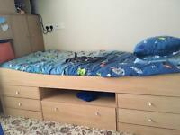 Cabin bed.