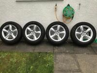 Audi Q7 alloy wheels and tyres