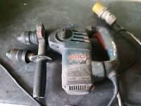 Bosch professional sds drill with breaker twin chuck 110v