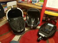 Quinny Travel System including car seat