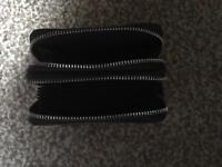 Black leather ladies purse.