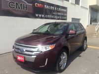 2011 Ford Edge LIMITED AWD NAV CAM ROOF CHROMES (CERTIFIED)