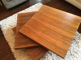 Square Designer Rotating Coffee Table