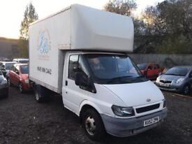 """FORD,TRANSIT,350M,LUTON,2.4cc,DIESEL,TAIL LIFT,2002,1 OWNER,WHITE"""