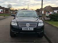 2006 06 Volkswagen Touareg 2.5 TDI SE 174 BHP TIPTRONIC AUTO HEATED LEATHER Turbo Diesel