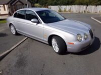 2004 Jaguar s type, Sat Nav, Manual.