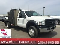 2007 Ford F-450 XL Regular Cab 4X4 DUALLY V-10 LINCLON WELDING T