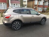 2012 Nissan Qashqai+2 N Tec+ Low mileage, 1.6 manual, slight damage HPI clear