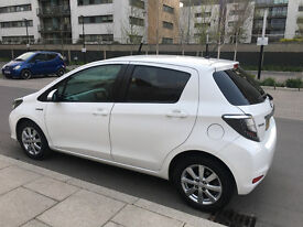 2014 toyota yaris 1.5 hybrid icon+ automatic, 1 lady owner, toyota history, hpi clear 100%