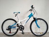 "FREE Lights (2683) 24"" Aluminium GARY FISHER BOYS GIRLS MOUNTAIN BIKE BICYCLE Age: 7-10, 125-140 cm"