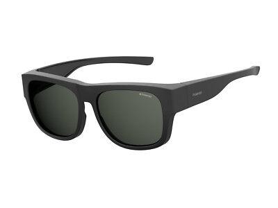 Occhiali da Sole Polaroid polarizzati PLD 9010/S nero opaco grigio 003/M9
