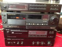 CD Player, Cassette Tape Player & AM/FM Stereo Tuner