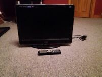 Teac digital tv with built in dvd