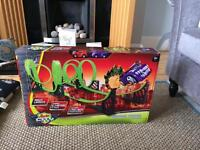 Auto city zombie racer car track and x2 cars