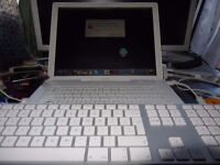 """Job lot 4 apple notebook G4 and iMac 20"""" for parts or repairs"""