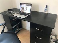 Black Desk - Medium Sized