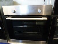 Electric Single Fan Oven Stainless Steel In Built Integrated Easy Clean LBFANX16