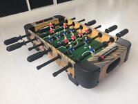 Wooden football table game