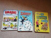 Vintage Comic Book Annuals - 1967/8