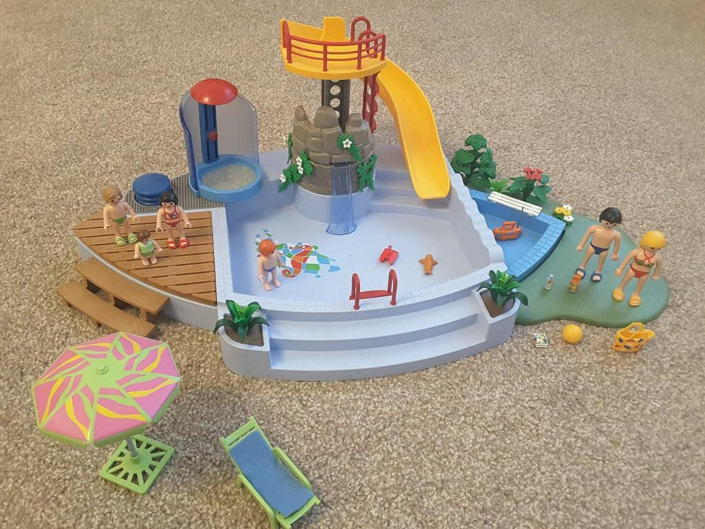 playmobil swimming pool 4858 in newport gumtree