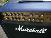 "Marshall 6101 30th Anniversary 3-channel all valve electric guitar amplifier-100watts-1 x 12"" - '92"