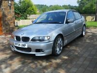 BMW 3 Series 320d Diesel M Sport Saloon (E46) 54 plate Facelift model