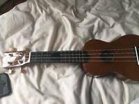Strong wind ukulele