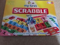 Kids my first scrabble board game