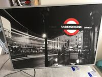 Large Piccadilly Circus Underground Station wall picture