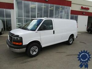 2015 GMC Savana G2500 Cargo Van w/Chrome Package - 9,925 Kms