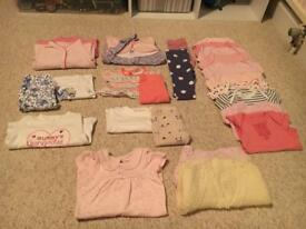 Bundle of baby girl clothes 0-3 months