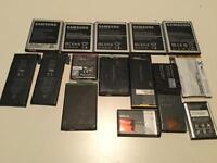 Joblot phone batteries Samsung iPhone Sony