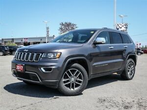 2017 Jeep Grand Cherokee Limited 4WD Sunroof Heated Leather