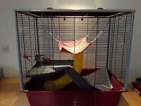 Rat cage hammocks and accessories