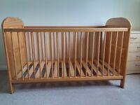Baby Weavers Cot Bed + Mattress + Bedding