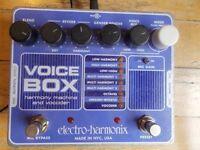 Electro Harmonix voice box - vocal harmony machine and vocoder