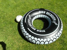 Inflatable Swimming ring for the beach or pool. 47 inches , 119 cm.