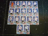Match Attax 2014 / 2015 - Tottenham Team - Set of 17 Cards