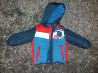 Boys Coat 12-18 months Thomas Tank Engine