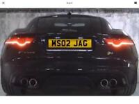 Jaguar x type s type XF private plate swap for car