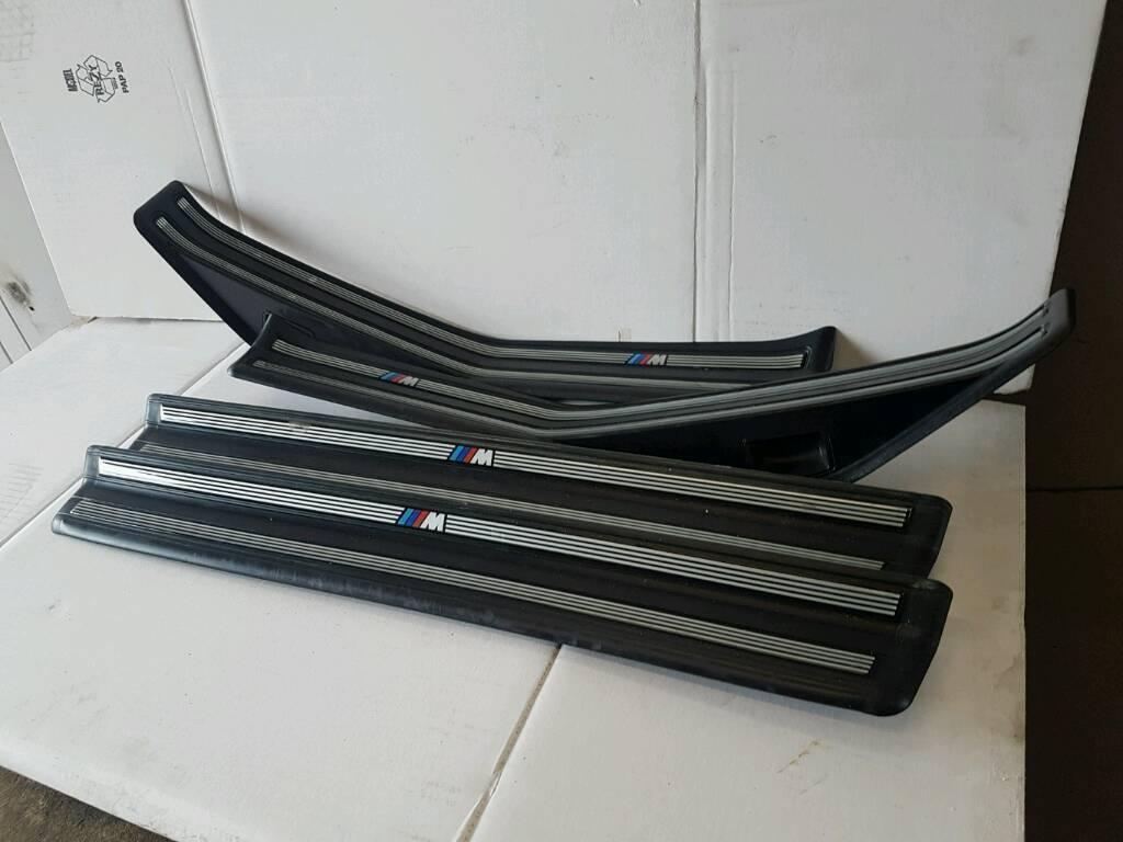 BMW E46 3 SERIES TOURING GENUINE M SPORT SIDE KICK PANEL TRIMS breaking 1 3 5 6 7 series