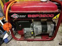 Generator Lpg & petrol 3.4 kva