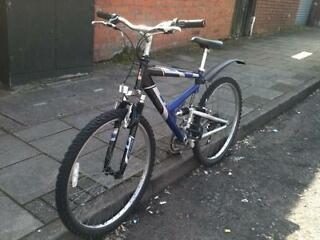 Full suspension raleigh mountain bike excellent condition with guarantee SAVE 50% OFF RRP!