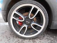 Mini 18 Inch GP Replica Alloys - R50, R52, R53, R56 Mini One, Cooper, Cooper S