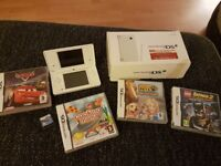 Nintendo dsi white...with games... hardly used