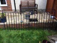 Wrought iron gate / driveway gate