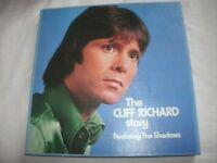 "A SUPER ""THE CLIFF RICHARD STORY"" -WORLD RECORDS-6 X 12.INCH VINYL LP'S BOX-SET."