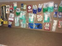 Over 70 packs Homebase Hardware (for around the home or workplace etc) - Job lot collection -