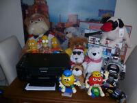 job lot.printer.large picture.train set.toys.jigsaws. £50 the lot