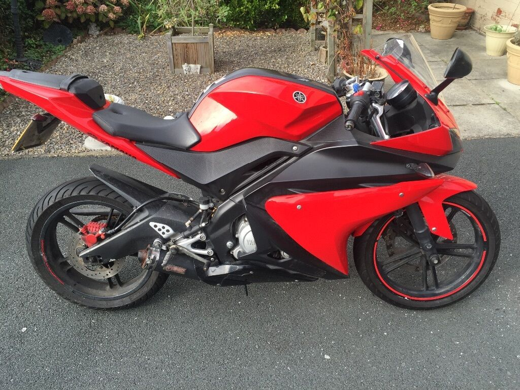 yamaha yzf r125 2009 in harehills west yorkshire gumtree. Black Bedroom Furniture Sets. Home Design Ideas